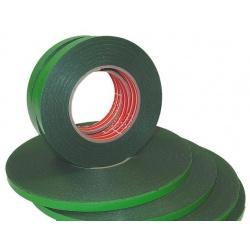 Lipni dvipusė juosta 9mm x 5m, žalia